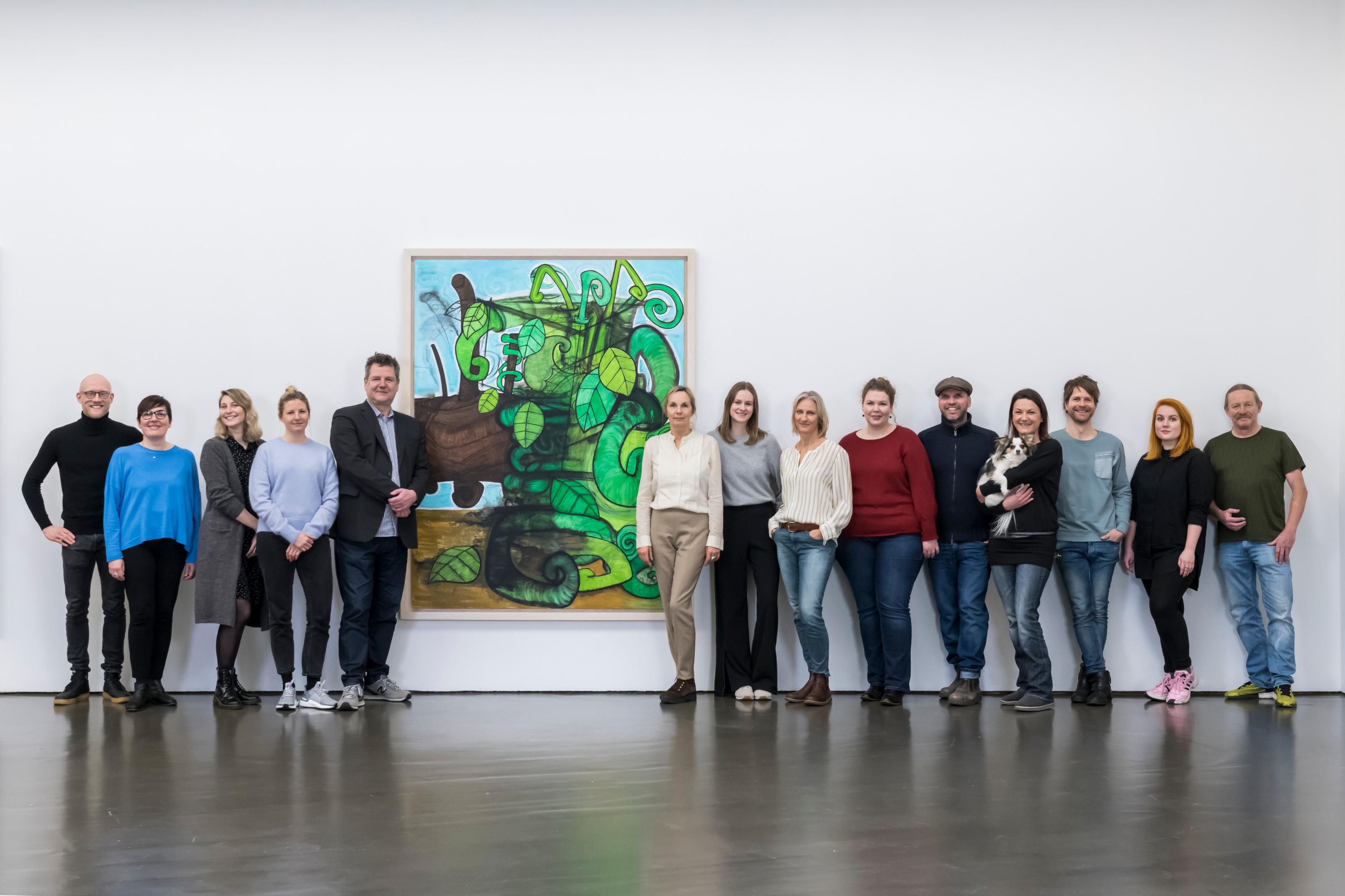 Team Kunsthalle Dusseldorf